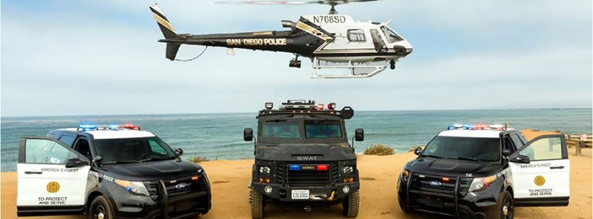 Star Towing Proudly Services the San Diego Police Department